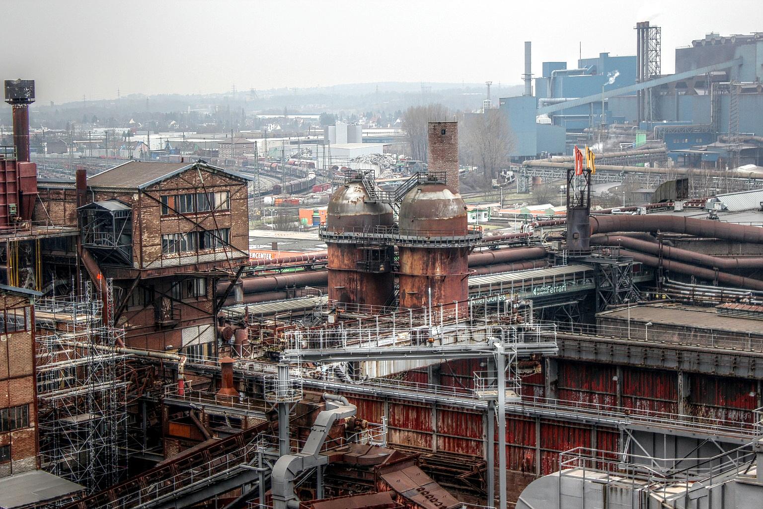 Alte und neue Industrie