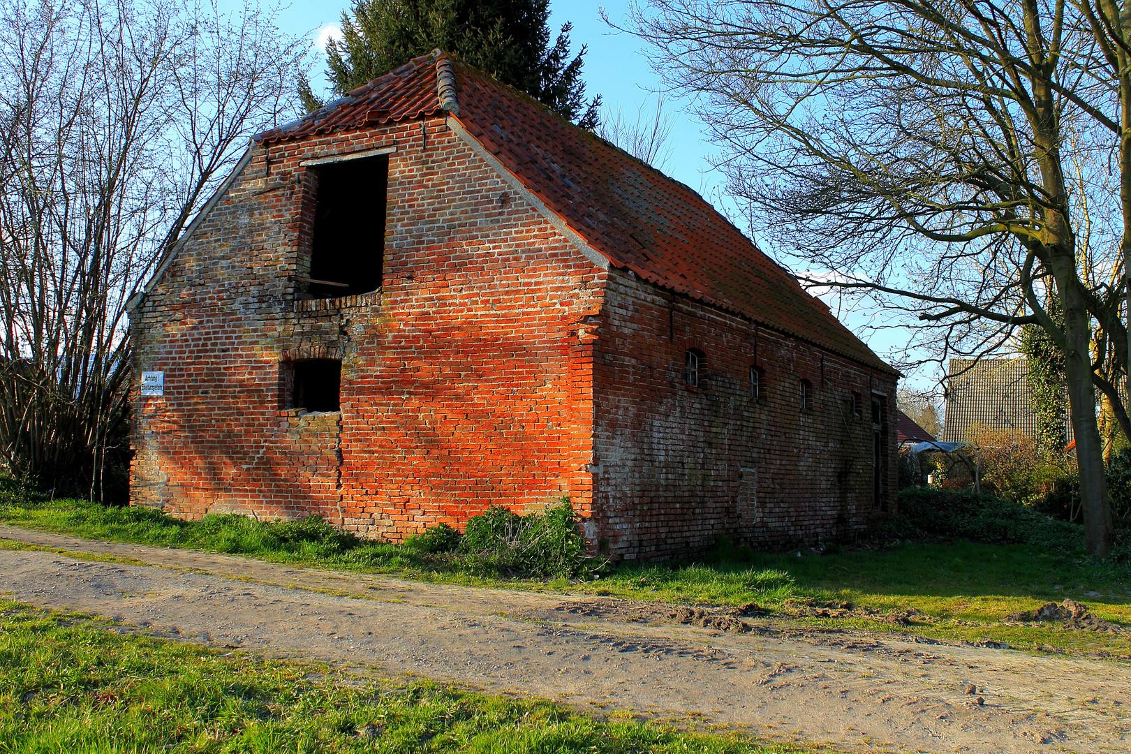 Alte verlassene Scheune