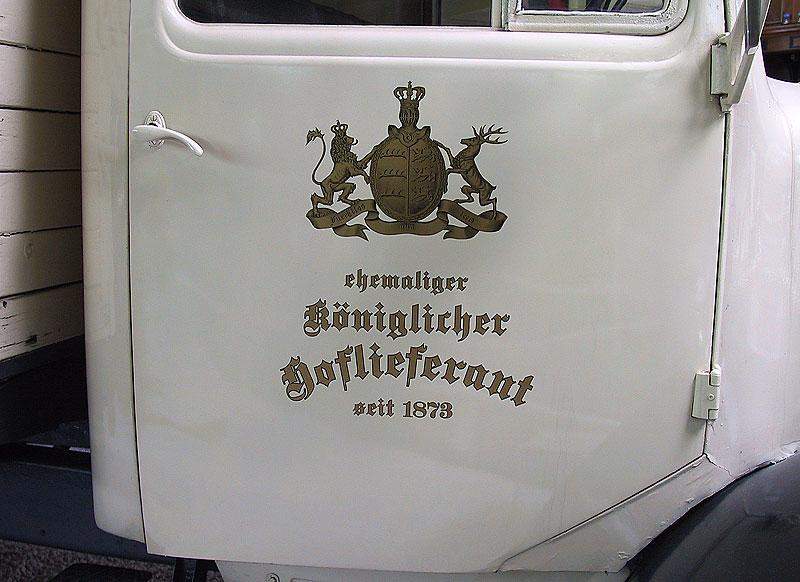 Alte Wagentüre