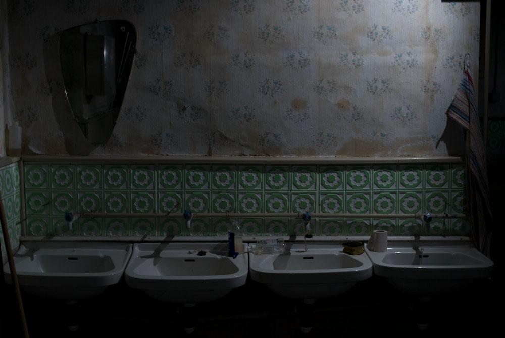 Alte Waschbecken