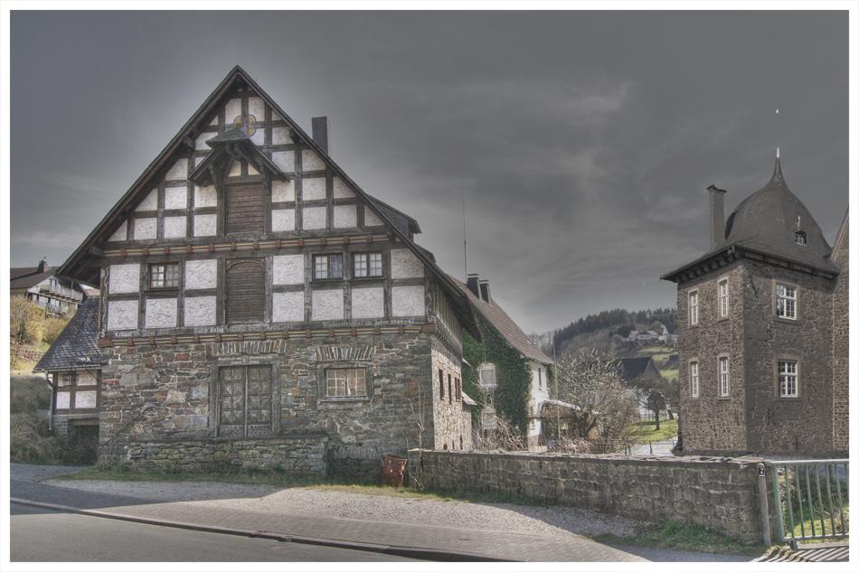 Alte Wassermühle...