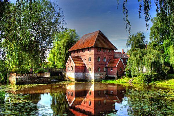 Alte Wassermühle am Mühlenkolk in Schüttorf