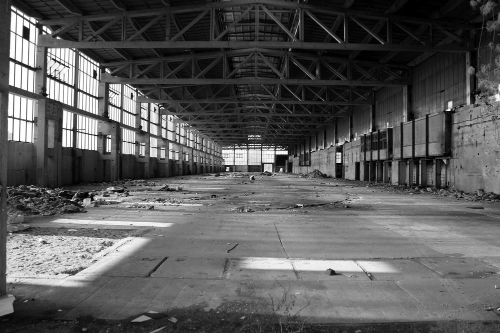 Alte Werkshalle