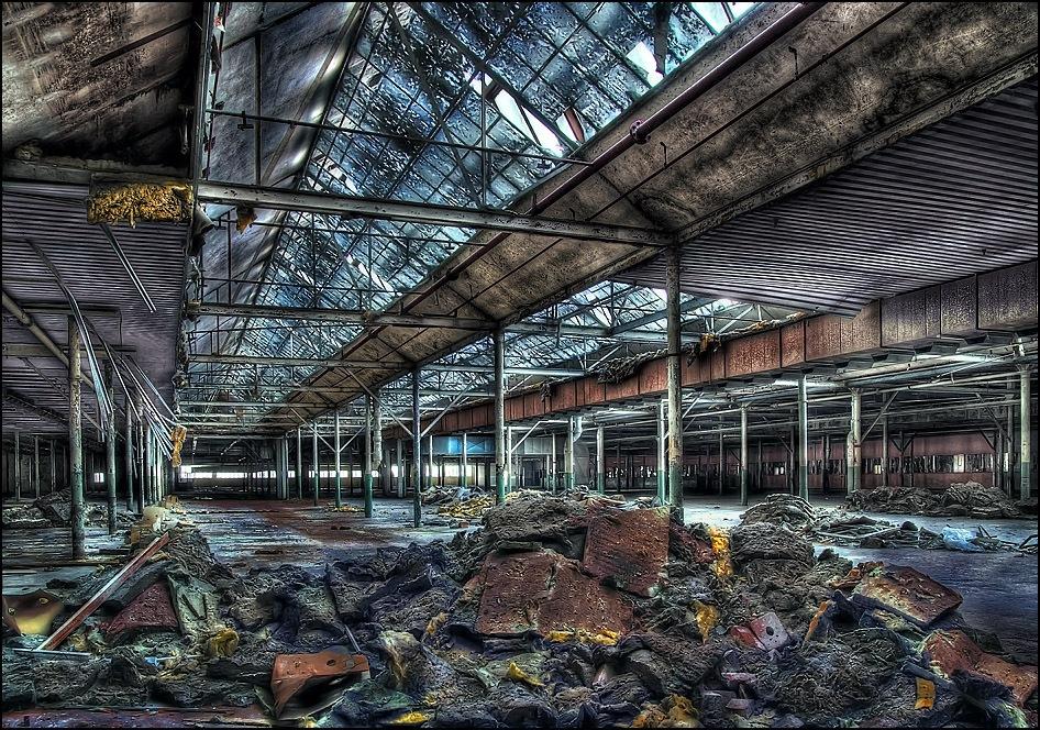 Alte Werkshallen II