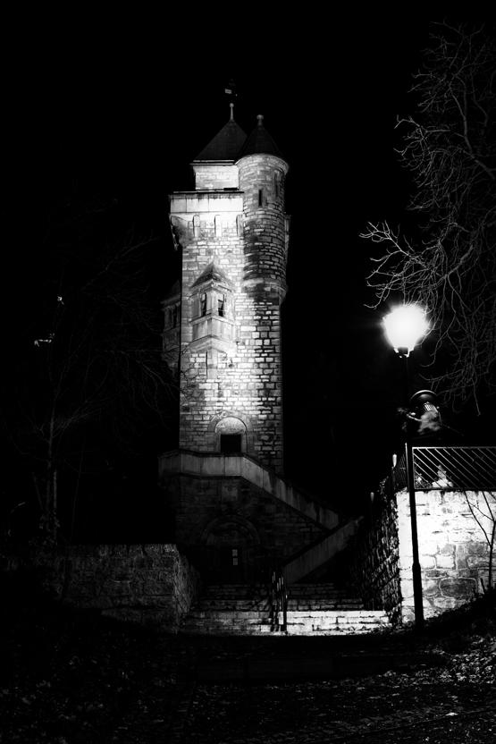 Alteburg bei Nacht