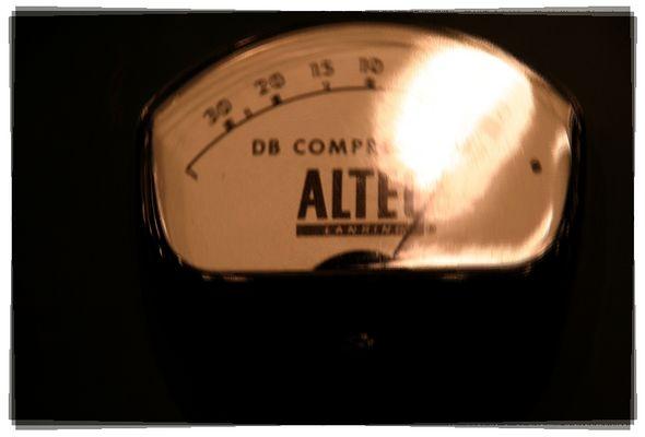 Altec Kompressor aus dem schönen Hamburger VOX Studio