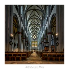 """Altenberger Dom """" Gott zu Gefallen..."""""""