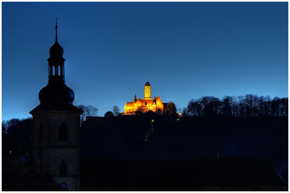 Altenburg bei Nacht