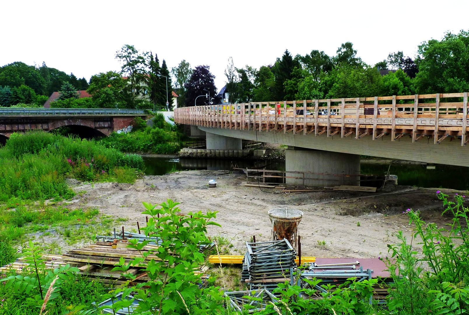Alte+Neue Werrebrücke Löhne