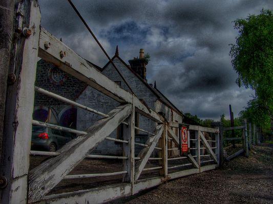 Alter Bahnhof in Aviemore