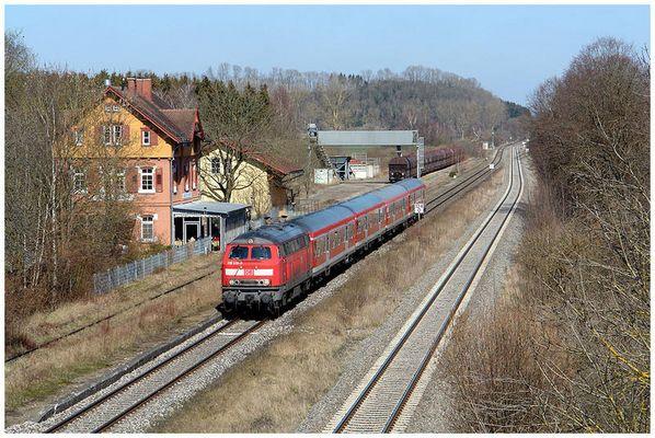 Alter Bahnhof Langenschemmern