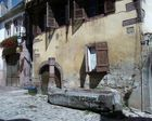 Alter Brunnen im Elsass