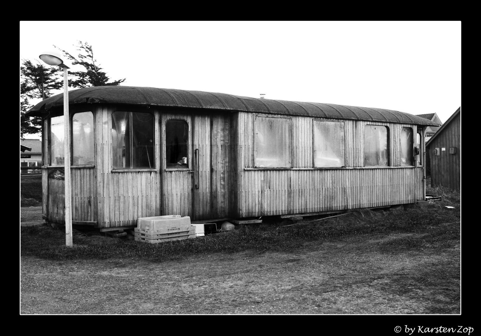 Alter Eisenbahnwagen