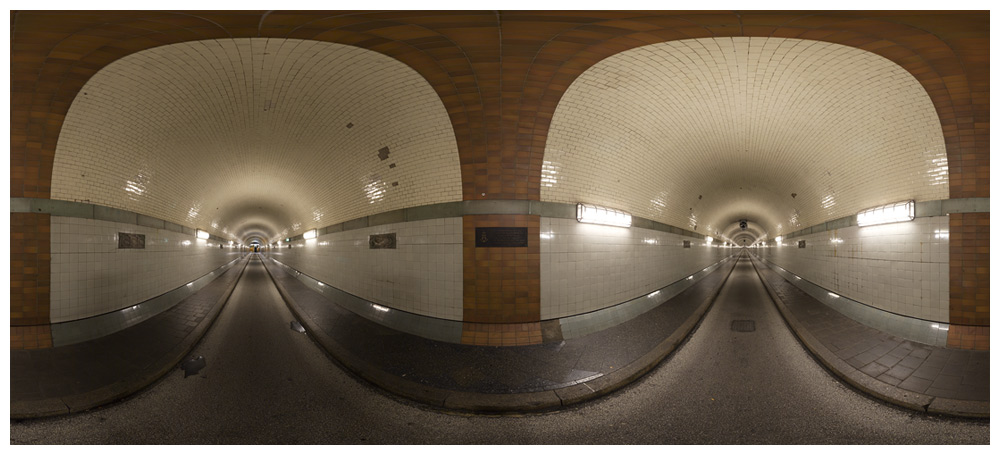 Alter Elbtunnel - Tunnelblick