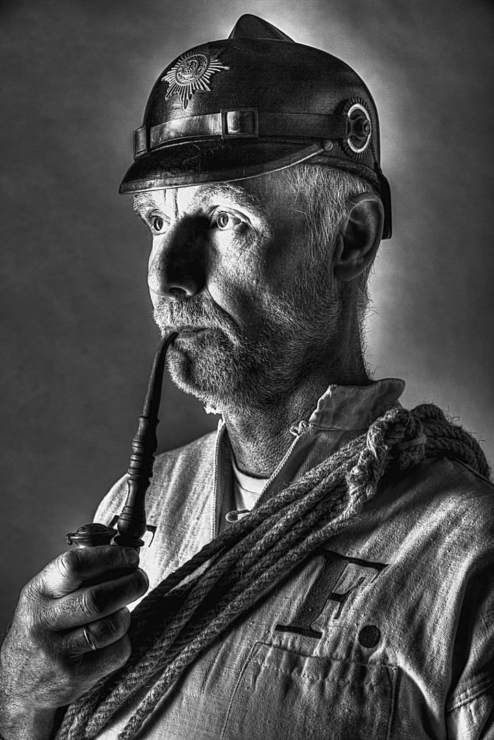 Alter Feuerwehrmann