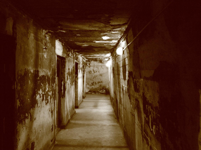 alter Filmbunker des Flughafen Tempelhof