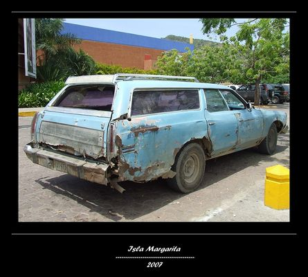 Alter Ford auf der Isla Margarita