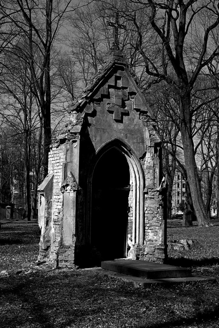 Alter Friedhof in Riga