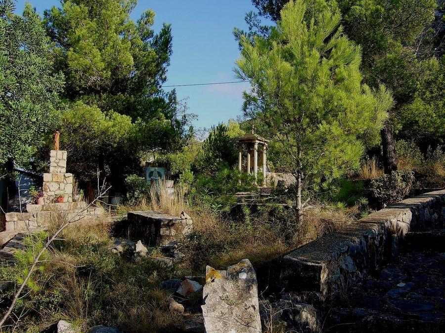 Alter Friedhof in Spanien