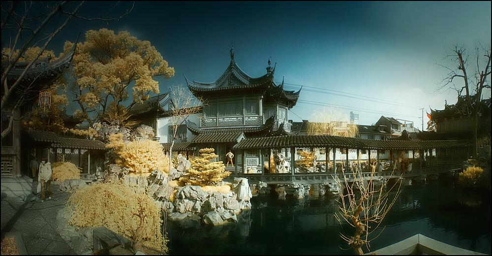 Alter Garten in Shanghai................