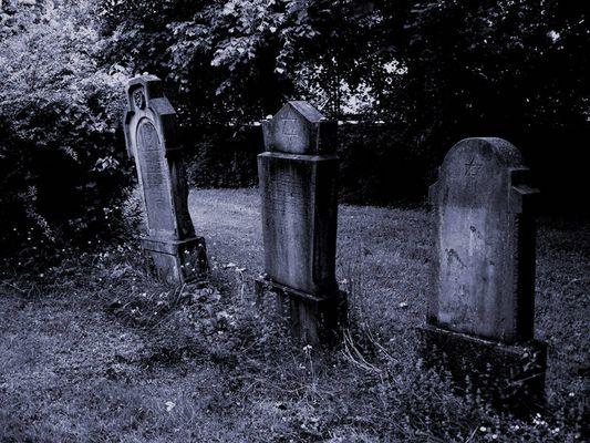 Alter jüdischer Friedhof in Brühl...
