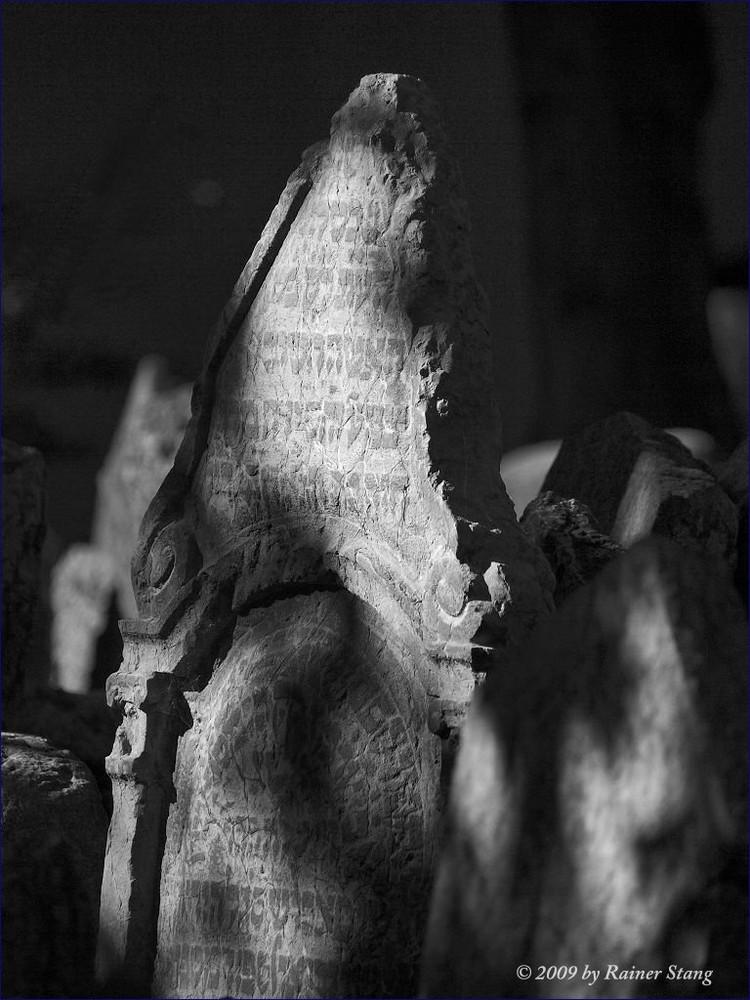 Alter jüdischer Friedhof in Prag 3