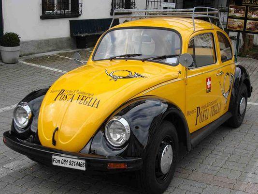 Alter Käfer von der PTT