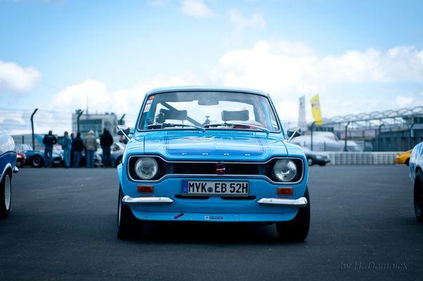 """alter """"Knochen"""" (Ford Escort MK1) beim Eifelrennen Nürburgring"""