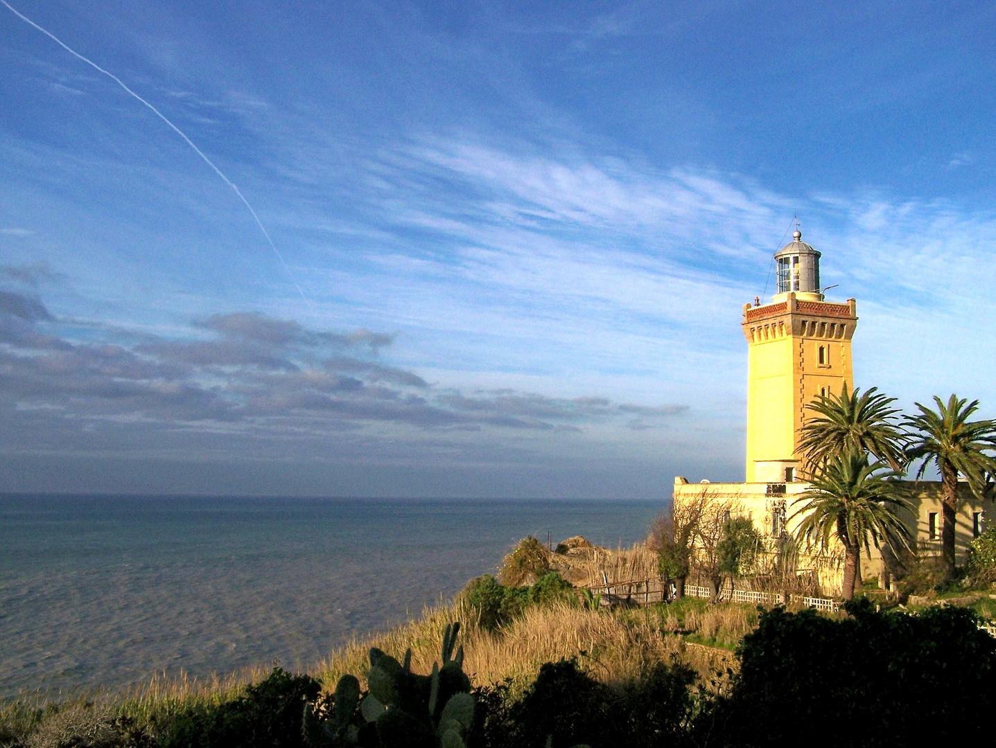 alter Leuchtturm bei Tanger