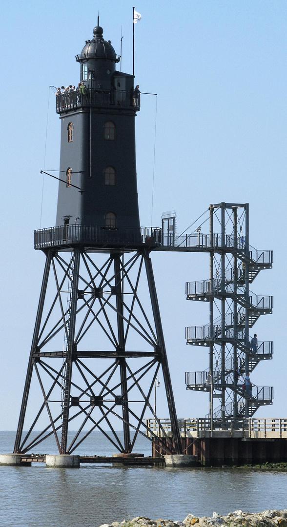Alter Leuchtturm in der Nordsee