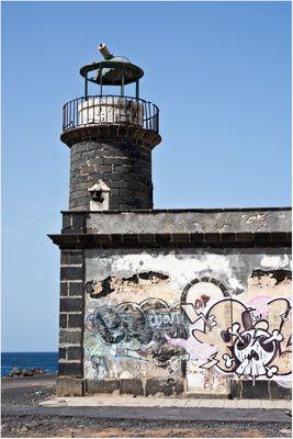 Alter Leuchtturm Playa Blanca,Lanzarote
