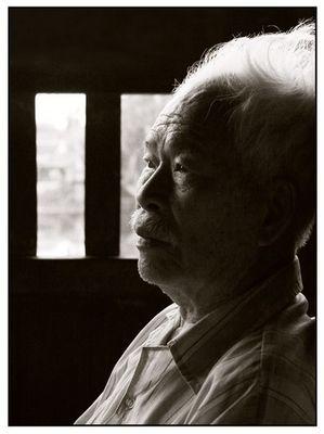 Alter Mann bei Hoi An -Vietnam