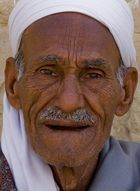 Alter Mann in Ägypten