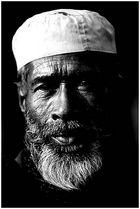 alter Mann in Bangladesh