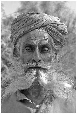Alter Mann in Jaisalmer/Rajasthan