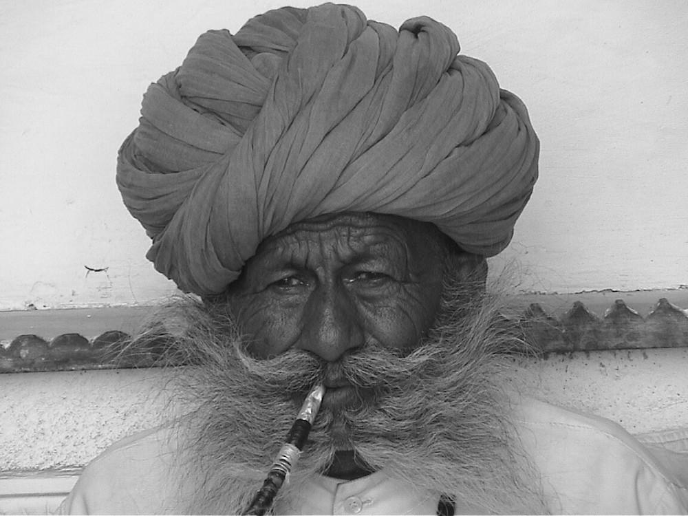 Alter Mann in Jodhpur