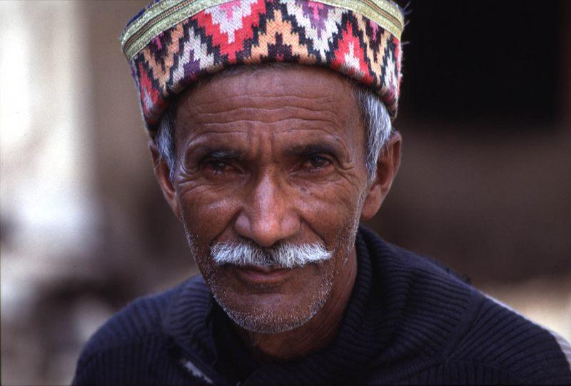 Alter Mann in Manali