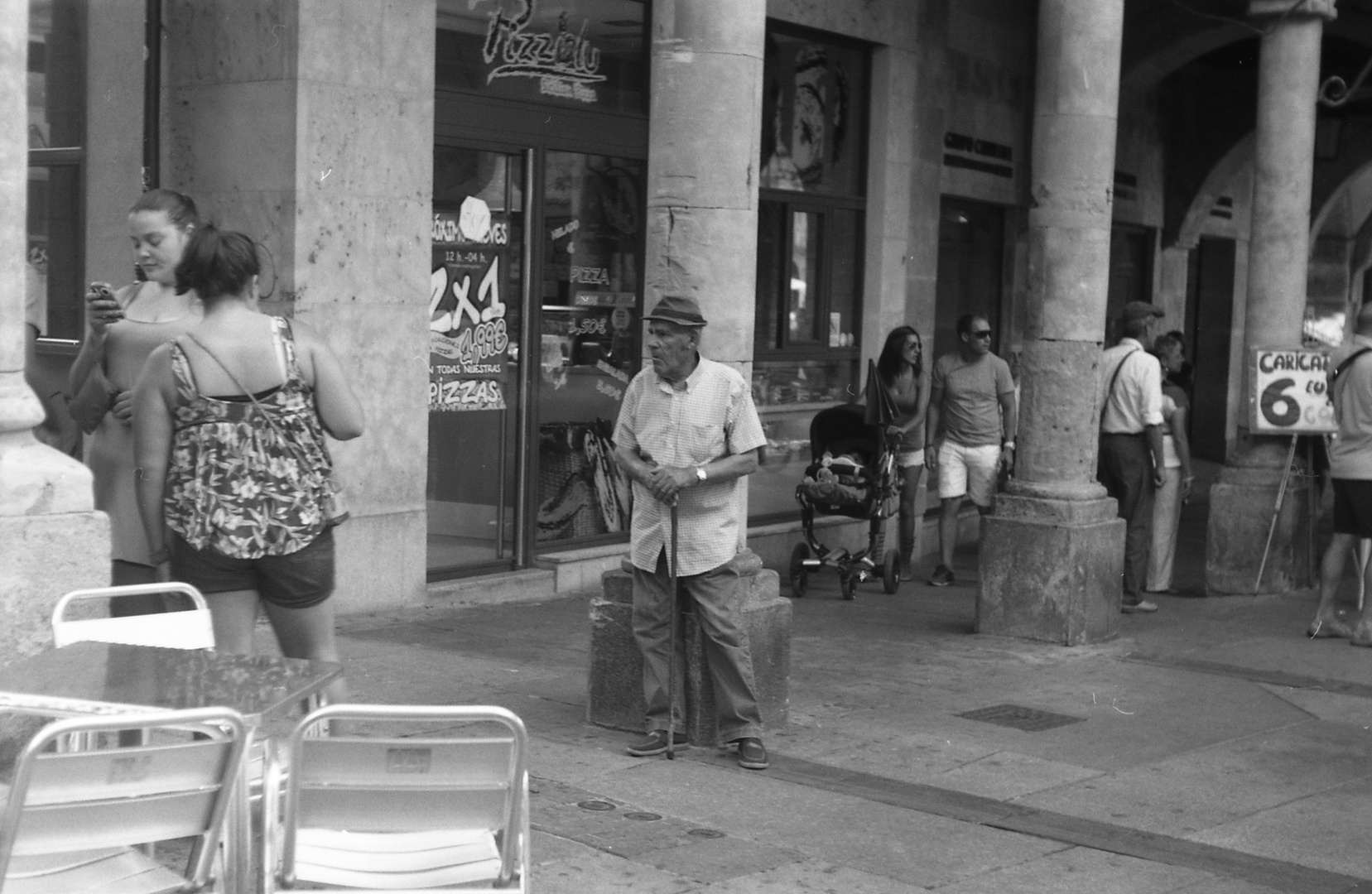 alter Mann in Salamanca