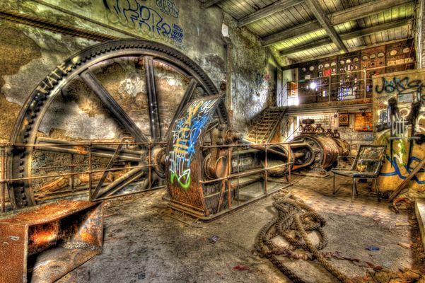 Alter Maschinensaal Textilfabrik