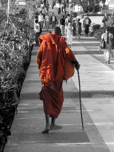 alter Mönch