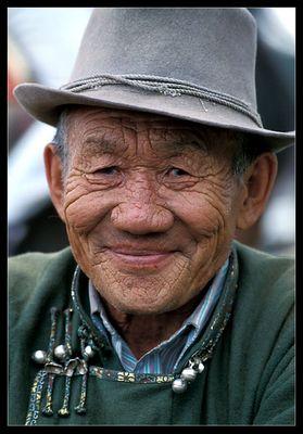 alter Nomade, Mongolei