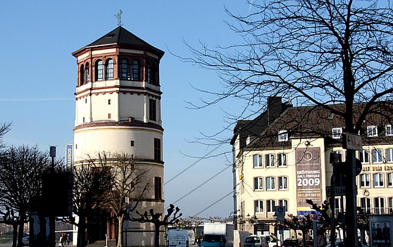 Alter Schlossturm in Düsseldorf