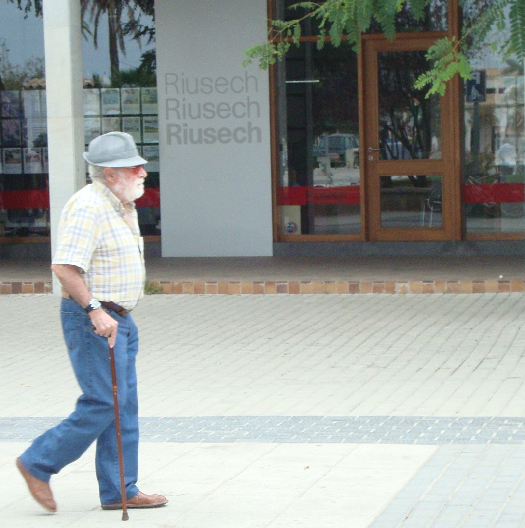Alter stolzer Mann