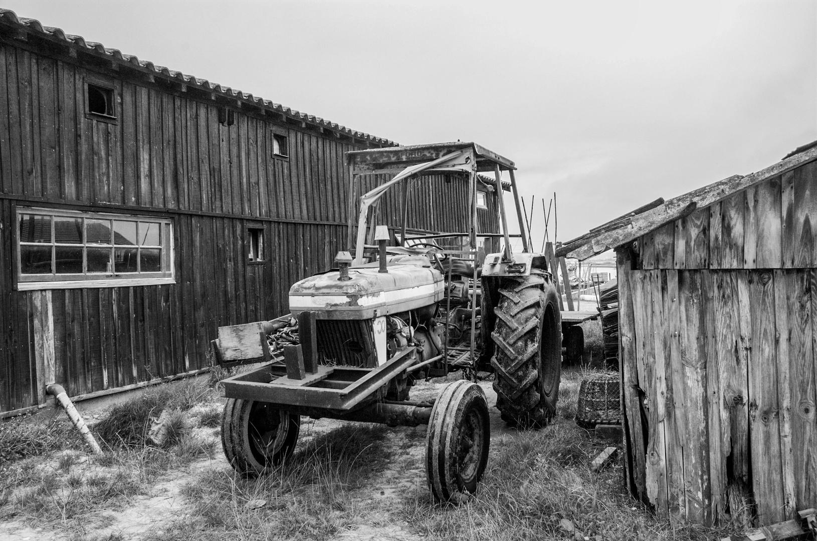 Alter Traktor