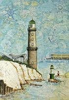 alter Warnemünder Leuchtturm