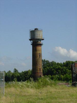 Alter Wasserturm Zeche Anna / Alsdorf-Aachen