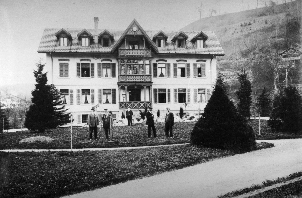 Altersheim in Bauma im Jahre 1900