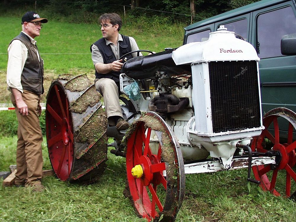 Altes Arbeitspferd.... und kann es immer noch!!