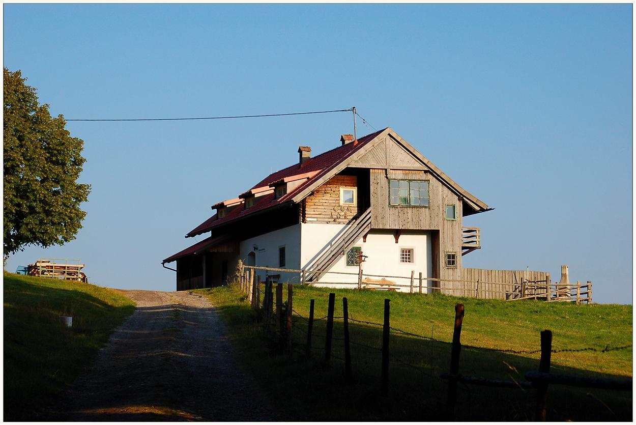 Altes Bauernhaus...