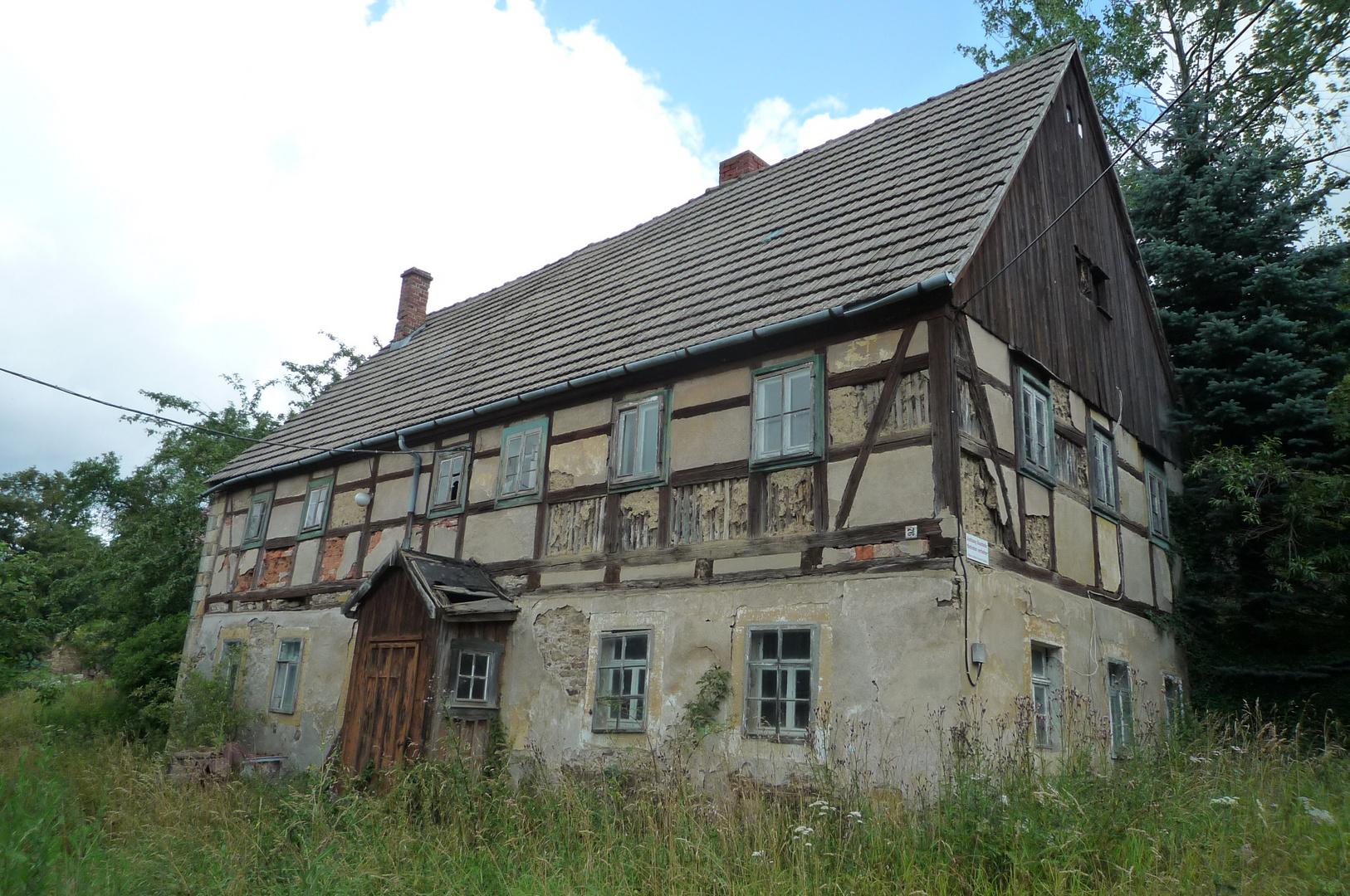 altes Bauernhaus Erzgebirge